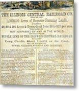 Illinois Railroad Company Metal Print