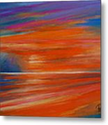 Impression Sunset 02 Metal Print