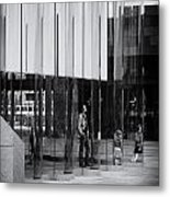 In The Glasshouse Metal Print