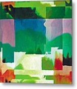 In The Land Of Forgetting 5 Metal Print by The Art of Marsha Charlebois