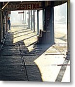 In The Shadows Of Mexicali Metal Print