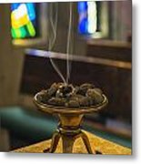 Incense Metal Print