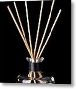 Incense Sticks Metal Print
