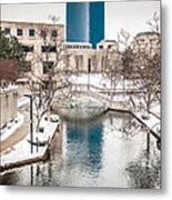 Indianapolis Canal Metal Print