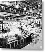 inside lonsdale quay market shopping mall north Vancouver BC Canada Metal Print