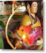 Interiors Of Vihn Trang Pagoda, My Tho Metal Print