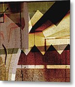 Interstate 10- Exit 259a- 29th St / Silverlake Rd Underpass- Rectangle Remix Metal Print
