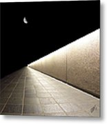 Into The Night I Metal Print