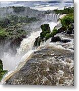 Iquassu Falls - South America Metal Print