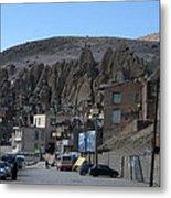 Iran Kandovan Stone Village Metal Print