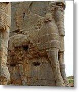Iran Persepolis Metal Print