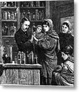 Ireland: Vaccination, 1880 Metal Print