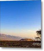 1-israel Negev Desert Landscape  Metal Print
