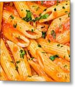 Italian Pasta - Penne All'arrabbiata Metal Print