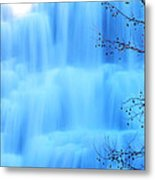 Ithaca Water Falls New York  Metal Print