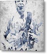 Jack Johnson Portrait Metal Print