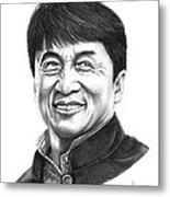Jackie Chan Metal Print