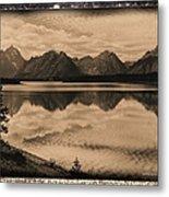 Jackson Lake Wyoming Metal Print