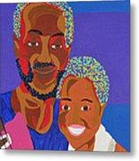 James And Monique Metal Print