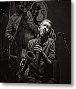 Jazz Passion Metal Print