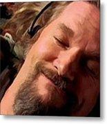 Jeff Bridges As The Dude Metal Print