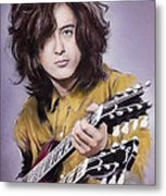 Jimmy Page 1 Metal Print