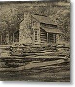 John Oliver Cabin In Cades Cove Metal Print