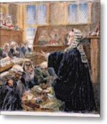 John Peter Zenger Trial Metal Print