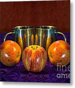 Joined At The Pip Metal Print by Donald Davis