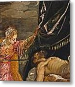 Judith And Holofernes Metal Print