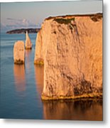 Jurassic Coast Dawn Metal Print