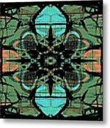 Kaleidoscope Flower 4 Metal Print