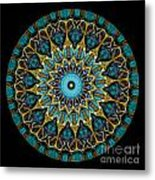 Kaleidoscope Steampunk Series Metal Print