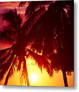 Kamaole Nights Metal Print