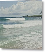 Kapalua Surf Honokahua Maui Hawaii Metal Print