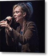 Karin Bergquist Lead Singer Of Over The Rhine Metal Print