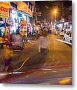 Katra Market Metal Print
