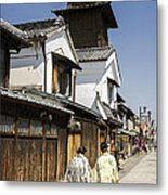 Kawagoe Bell Tower Metal Print