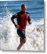 Kelly Slater World Surfing Champion Copy Metal Print