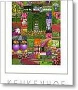 Keukenhof Gardens Poster Metal Print