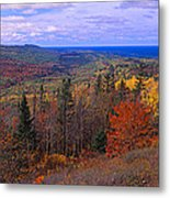 Keweenaw Peninsula And Copper Harbor Metal Print