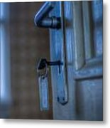 Key To The Door Metal Print