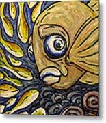 Responsible Fish Metal Print