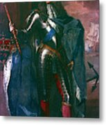 King James II Of England (1633-1701) Metal Print