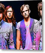 Kings Of Leon Metal Print