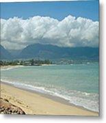 Kite Beach Kanaha Maui Hawaii Metal Print