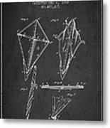 Kite Patent From 1892 Metal Print