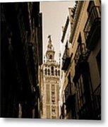 La Giralda - Seville Spain Metal Print