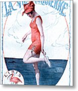 La Vie Parisienne 1918 1910s France Metal Print by The Advertising Archives