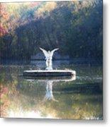 Lake Angel Metal Print